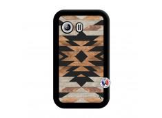 Coque Samsung Galaxy Y Aztec Noir