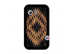 Coque Samsung Galaxy Y Aztec One Motiv Noir