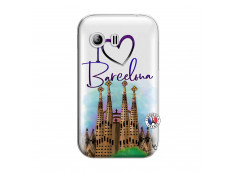 Coque Samsung Galaxy Y I Love Barcelona