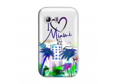 Coque Samsung Galaxy Y I Love Miami