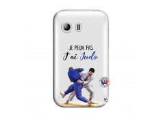 Coque Samsung Galaxy Y Je peux pas j'ai Judo