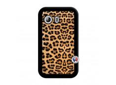 Coque Samsung Galaxy Y Leopard Style Noir