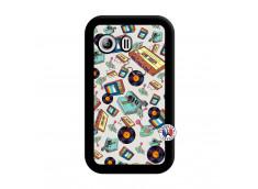 Coque Samsung Galaxy Y Mock Up Noir