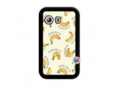 Coque Samsung Galaxy Y Sorbet Banana Split Noir