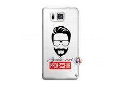 Coque Samsung Galaxy Alpha Apelle Moi Professeur