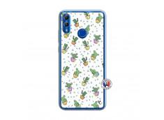 Coque Huawei Honor 10 Lite Le Monde Entier est un Cactus Translu