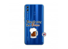 Coque Huawei Honor 10 Lite Jamais Sans Ma Brune