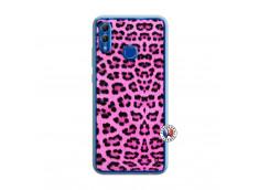 Coque Huawei Honor 10 Lite Pink Leopard Translu