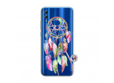 Coque Huawei Honor 10 Lite Pink Painted Dreamcatcher