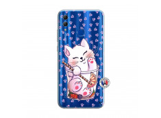 Coque Huawei Honor 10 Lite Smoothie Cat