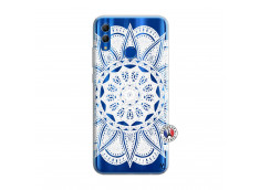 Coque Huawei Honor 10 Lite White Mandala