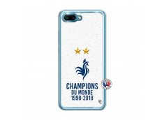 Coque Huawei Honor 10 Champion Du Monde Translu