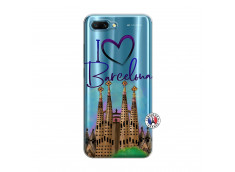 Coque Huawei Honor 10 I Love Barcelona