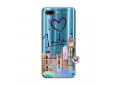 Coque Huawei Honor 10 I Love London