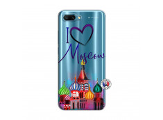 Coque Huawei Honor 10 I Love Moscow