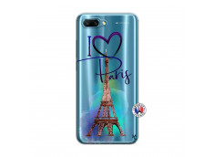Coque Huawei Honor 10 I Love Paris