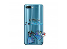Coque Huawei Honor 10 Je Peux Pas J Ai Natation