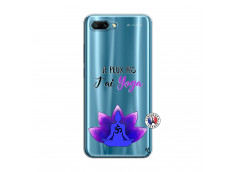 Coque Huawei Honor 10 Je Peux Pas J Ai Yoga