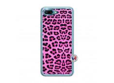 Coque Huawei Honor 10 Pink Leopard Translu