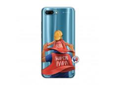 Coque Huawei Honor 10 Super Papa et Super Bébé