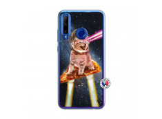 Coque Huawei Honor 20 Lite Cat Pizza Translu
