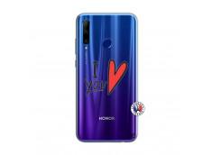 Coque Huawei Honor 20 Lite I Love You