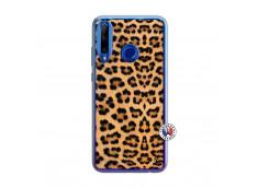 Coque Huawei Honor 20 Lite Leopard Style Translu