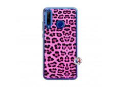 Coque Huawei Honor 20 Lite Pink Leopard Translu