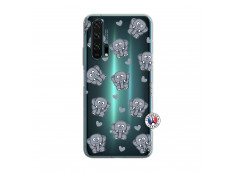 Coque Huawei Honor 20 PRO Petits Elephants