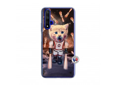 Coque Huawei Honor 20/nova 5T Cat Nasa Translu