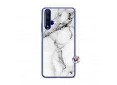 Coque Huawei Honor 20/nova 5T White Marble Translu