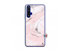 Coque Huawei Honor 20/nova 5T Marbre Rose Translu