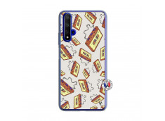 Coque Huawei Honor 20/nova 5T Vintage Tape Translu