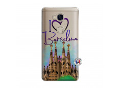 Coque Huawei Honor 5X I Love Barcelona