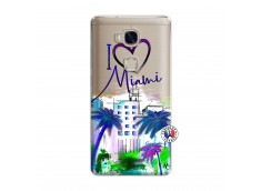 Coque Huawei Honor 5X I Love Miami