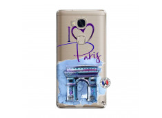 Coque Huawei Honor 5X I Love Paris Arc Triomphe