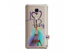Coque Huawei Honor 5X I Love Paris