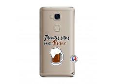 Coque Huawei Honor 5X Jamais Sans Ma Brune