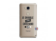 Coque Huawei Honor 5X Je Dribble Comme Cristiano