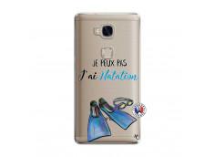 Coque Huawei Honor 5X Je Peux Pas J Ai Natation