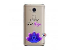 Coque Huawei Honor 5X Je Peux Pas J Ai Yoga