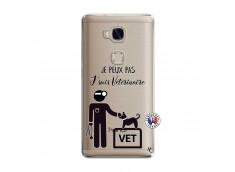 Coque Huawei Honor 5X Je Peux Pas Je Suis Veterinaire