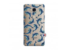 Coque Huawei Honor 5X Dolphins