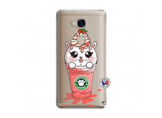 Coque Huawei Honor 5X Catpucino Ice Cream