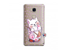 Coque Huawei Honor 5X Smoothie Cat