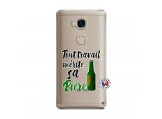 Coque Huawei Honor 5X Tout Travail Merite Sa Biere