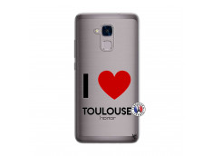 Coque Huawei Honor 5C I Love Toulouse