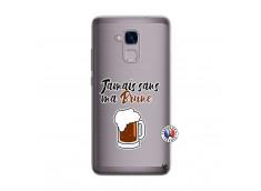 Coque Huawei Honor 5C Jamais Sans Ma Brune