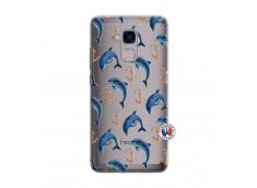 Coque Huawei Honor 5C Dauphins