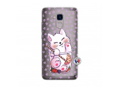 Coque Huawei Honor 5C Smoothie Cat